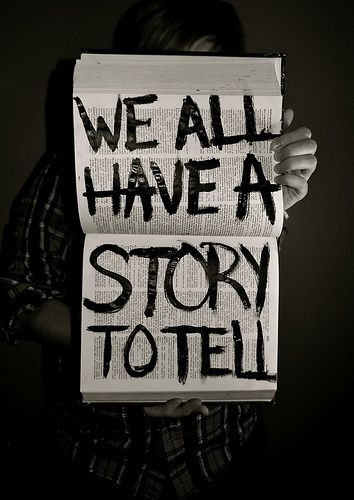 Image result for tell the story