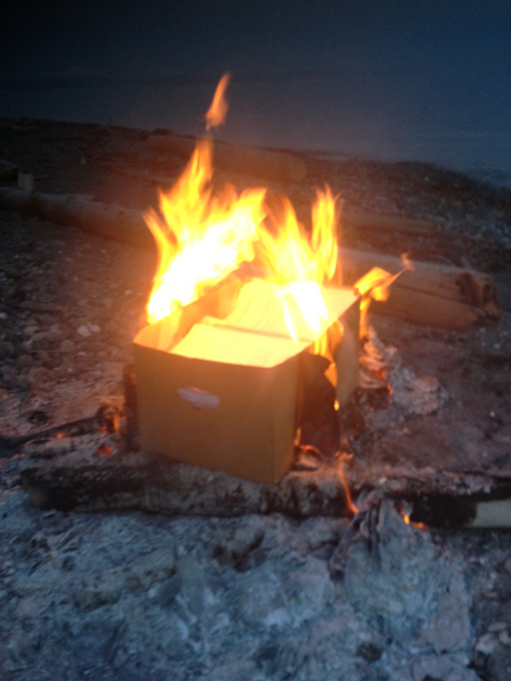 second fire box