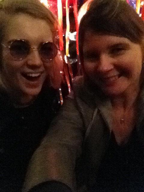alana and me selfie
